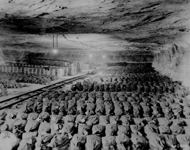 Сокровища соляной шахты в Меркерс.