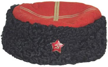 Папаха кубанского казака РККА.