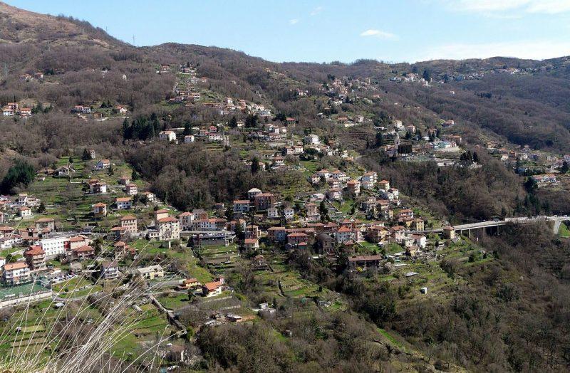 Панорама современной деревни Баргальи.