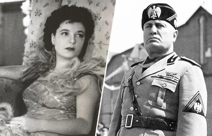Бенито Муссолини и Кларетта Петаччи.