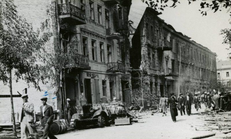 Первый год немецкой оккупации. Ноябрь 1939 г.