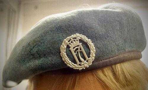 Берет голландских подразделений в армии Великобритании.