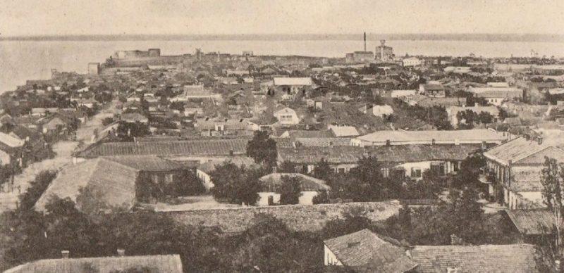 Общий вид города. 1944 г.