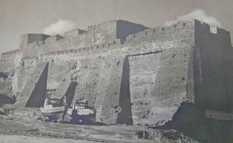 Белгород-Днестровская крепость с северной стороны. 1944 г.