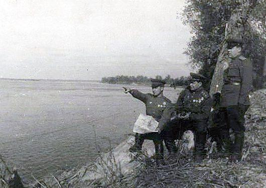 Проведение рекогносцировки перед высадкой аккерманского десанта. Август 1944 г.