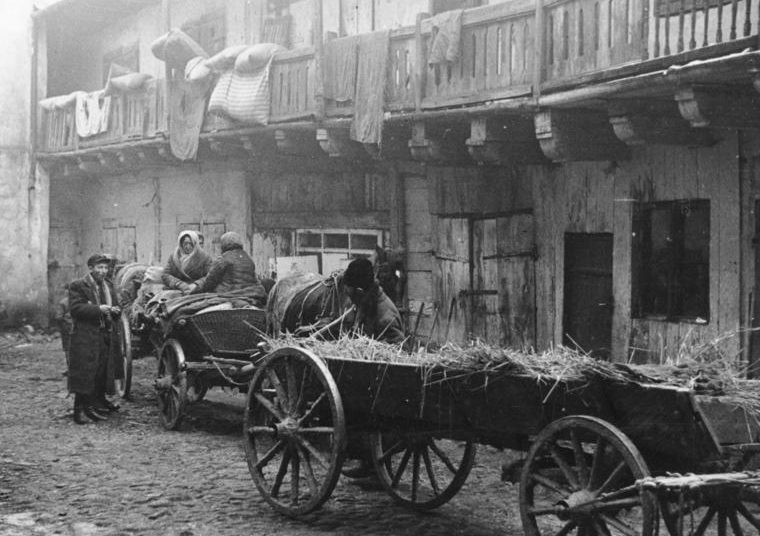 Люблинское гетто. Декабрь 1939 г.