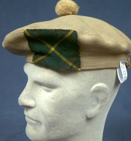 Береты шотландских полков.