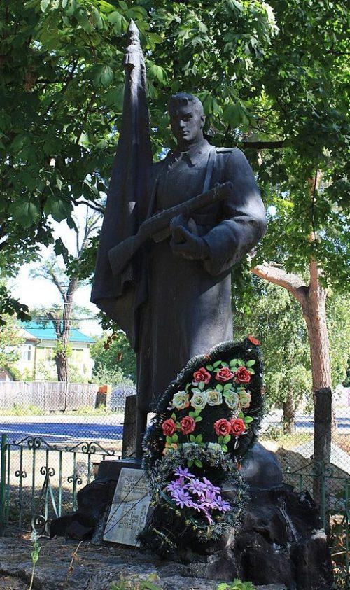 с. Млиев Городищенского р-на. Памятник, установленный на братской могиле воинов, погибших в боях за село.