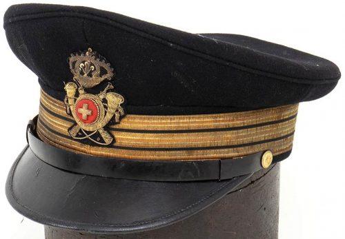 Фуражка офицера колониальной пехоты.