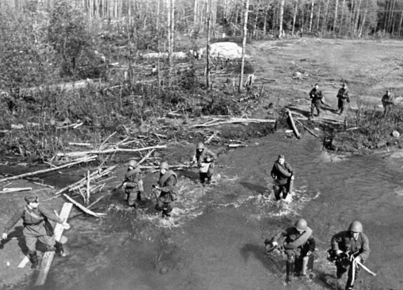 Бой под Нарвой. Июль 1944 г.