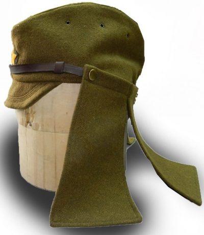 Полевой кепи офицеров Японской армии, образца 1938г. Шерстяной вариант.