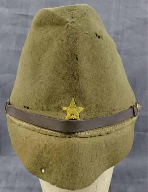Фетровый кепи образца 1937 года.