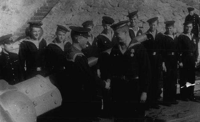 Участники Аккерманского десанта. Август 1944 г.