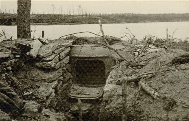 Захваченный ДОТ. Июль 1944 г.