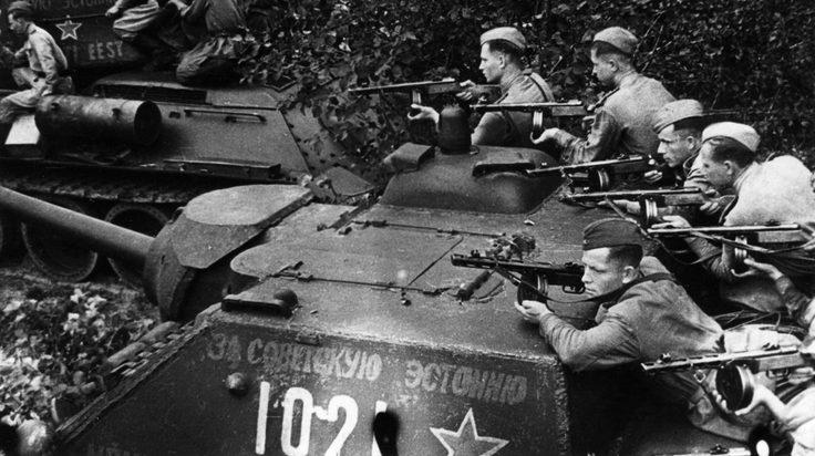 Бои в районе «котла». Апрель 1945 г.