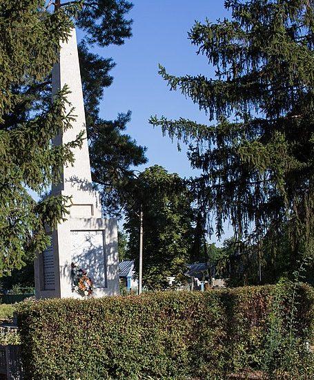 п. Цветково Городищенского р-на. Памятник воинам-односельчанам.