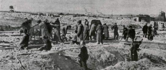 Концлагерь Майданек. 1943 г.