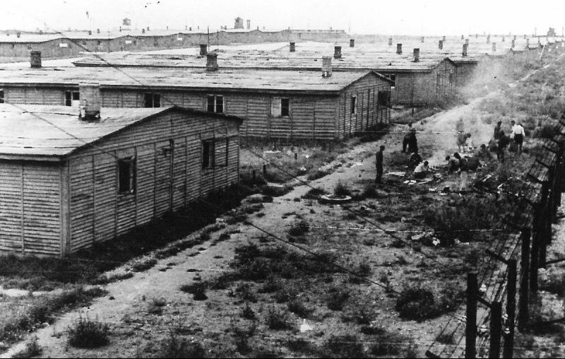 Концлагерь Майданек (Люблин). Июнь 1944 г.