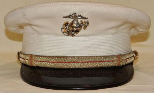 Фуражка офицера морской пехоты.