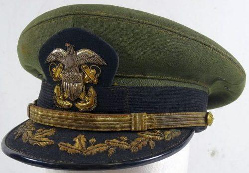 Фуражка старшего офицера морской авиации.