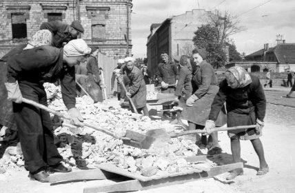 Восстановление города 1945 г.