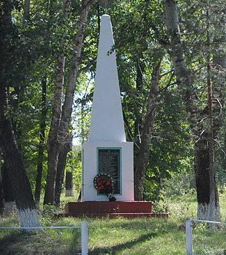 с. Жерноклевы Драбовского р-на. Памятник воинам-односельчанам.