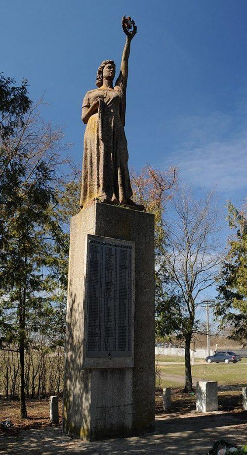 с. Кантакузовка Драбовского р-на. Памятник воинам-односельчанам.
