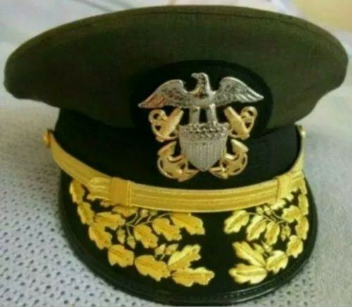 Фуражка адмирала морской авиации.