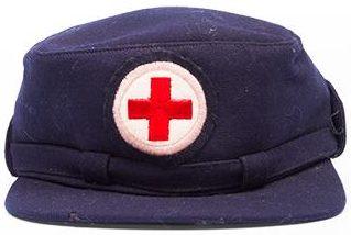 Кепи сотрудниц Канадского Красного Креста.