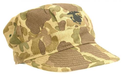 Камуфляжный кепи корпуса морской пехоты.
