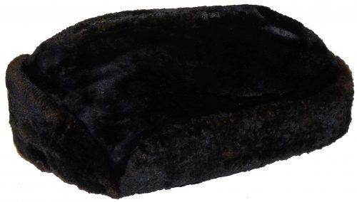 Шапка моряков из тюленьего меха.