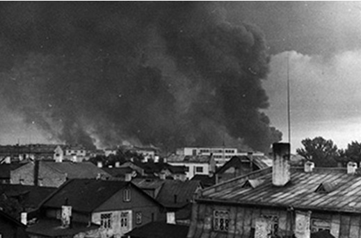 Вид на Таллин. Август 1941 г.