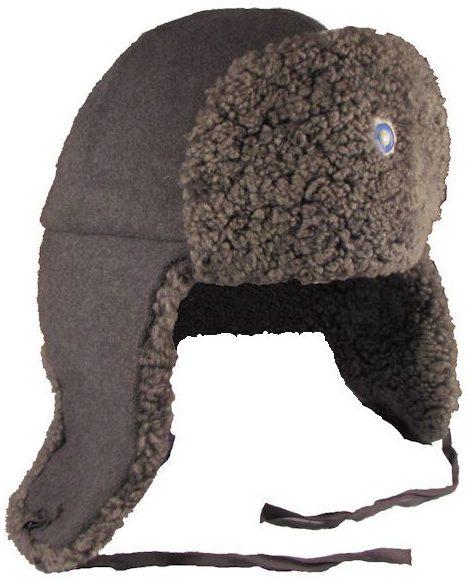 Меховая солдатская шапка образца 1939 года.