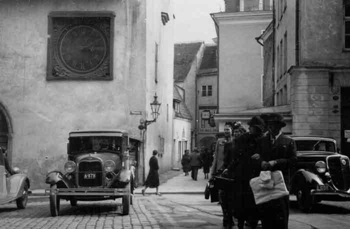 Улицы Таллина. 1939 г.
