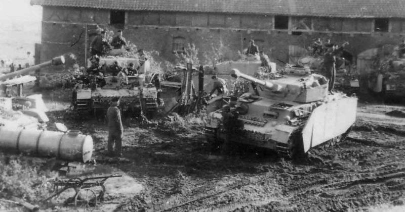 Немецкие войска в Венгрии.