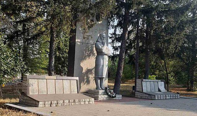 с. Белашки Тальновского р-на. Памятник воинам-односельчанам.
