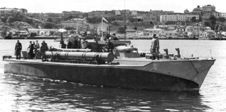 Торпедный катер типа «Воспер», полученный по Ленд-лизу.