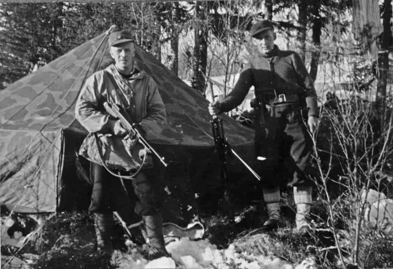 Норвежские горные стрелки. Апрель 1940 г.