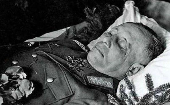 Похороны Эрвина Роммеля.