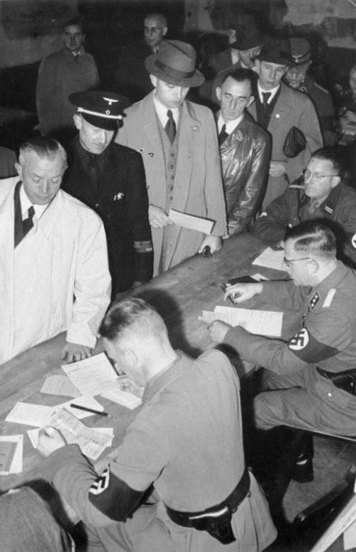 Запись в Фольксштурм. 22 октября 1944 г.