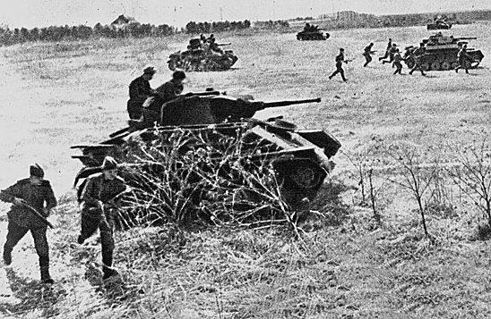 Наступление советских войск на Сегед.