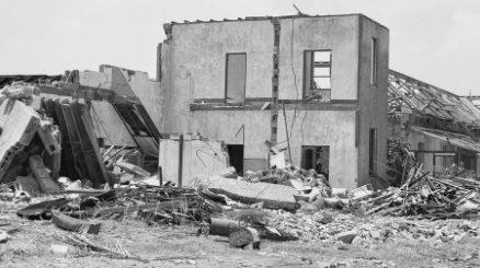 Разрушения в Дарвине.