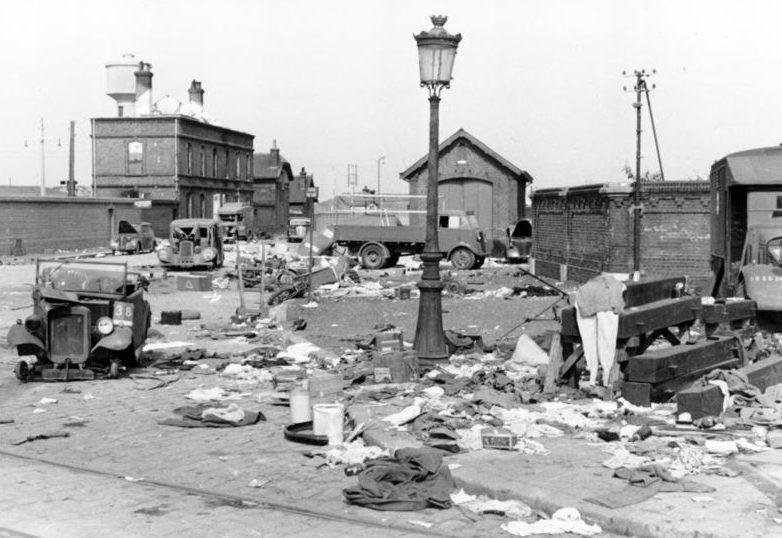 Результаты осады города Кале.