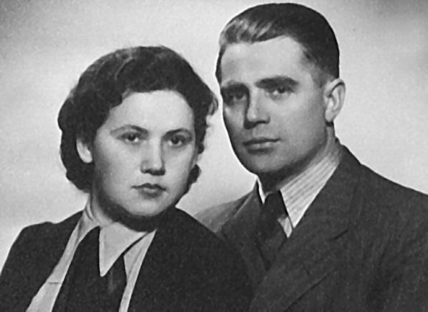 Молодожены – Таврин и Шилова.