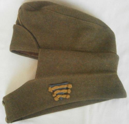 Зимняя шерстяная пилотка унтер-офицера ВВС образца 1920 года.