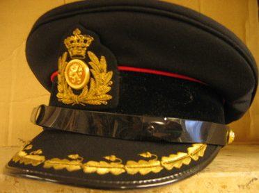 Фуражка офицера-артиллериста.
