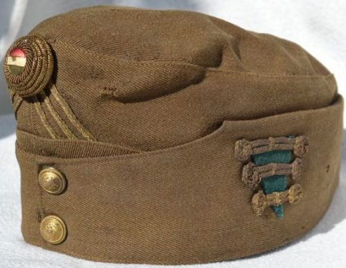 Пилотка хлопчатобумажная капитана-пехотинца образца 1920 года.