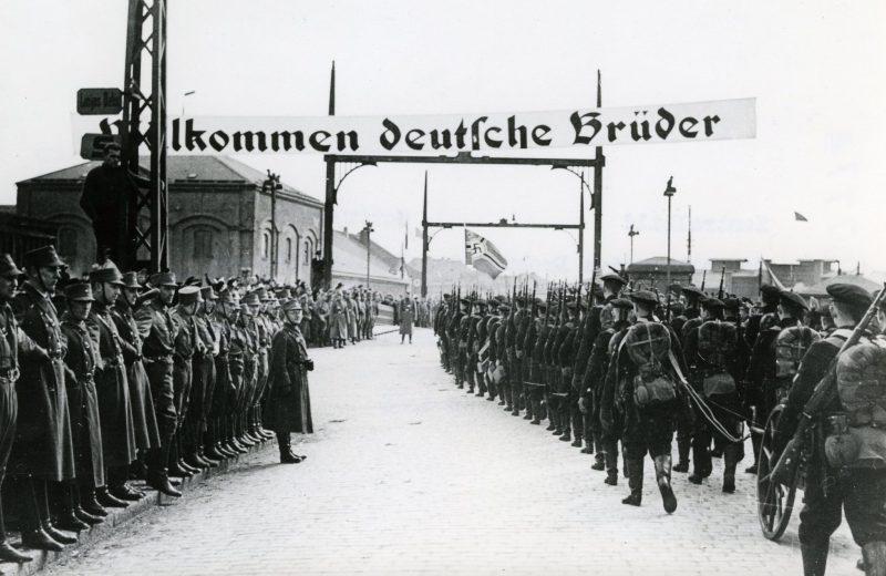 Немецкие войска в Клайпеде. Март 1939 г.