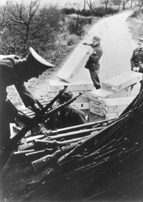 Оружие для Фольксштурма. Октябрь 1944 г.