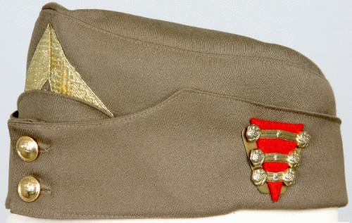Пилотка шерстяная майора-артиллериста образца 1920 года.